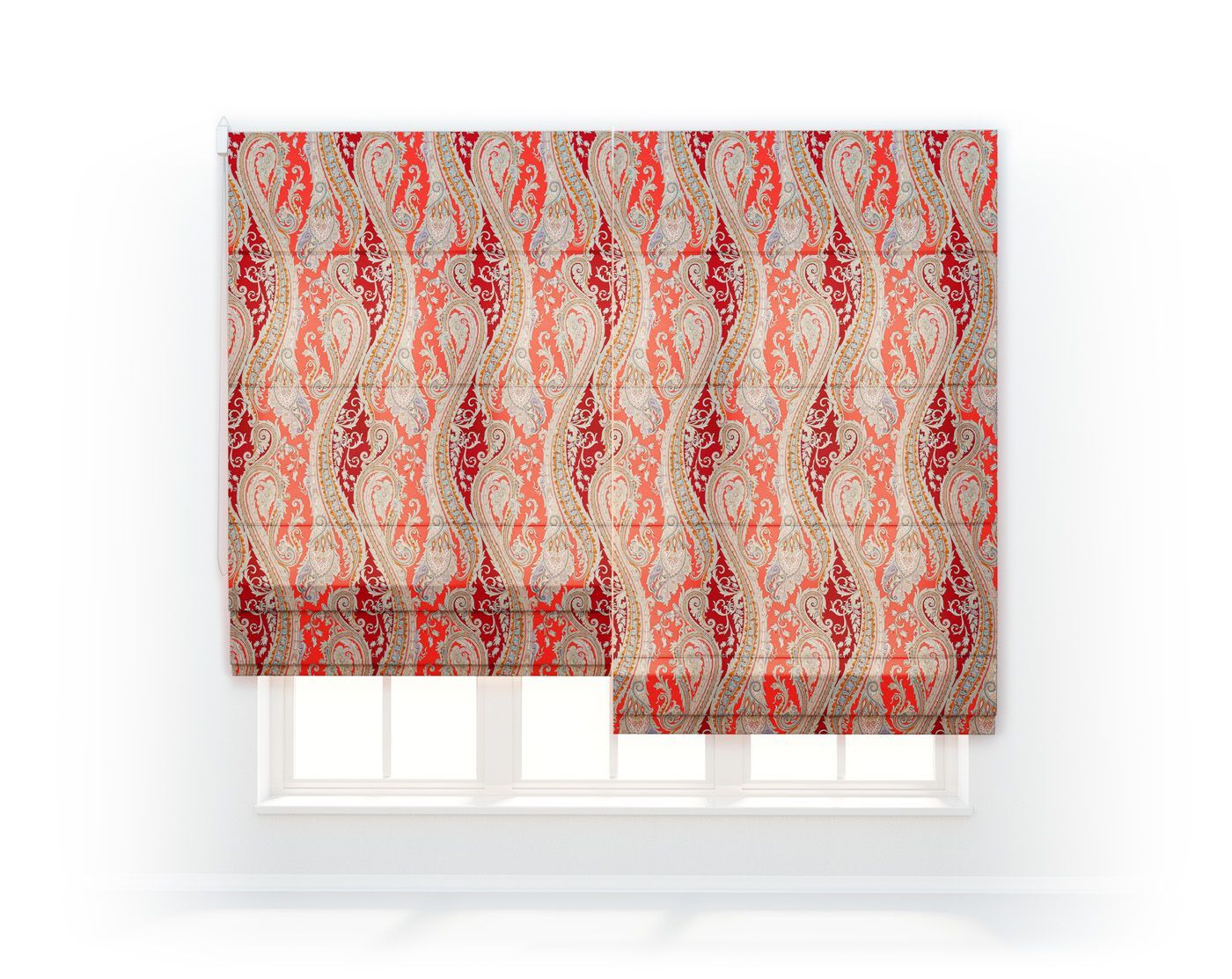 Римские шторы Coral Reef, FunPaisleyCoralReef