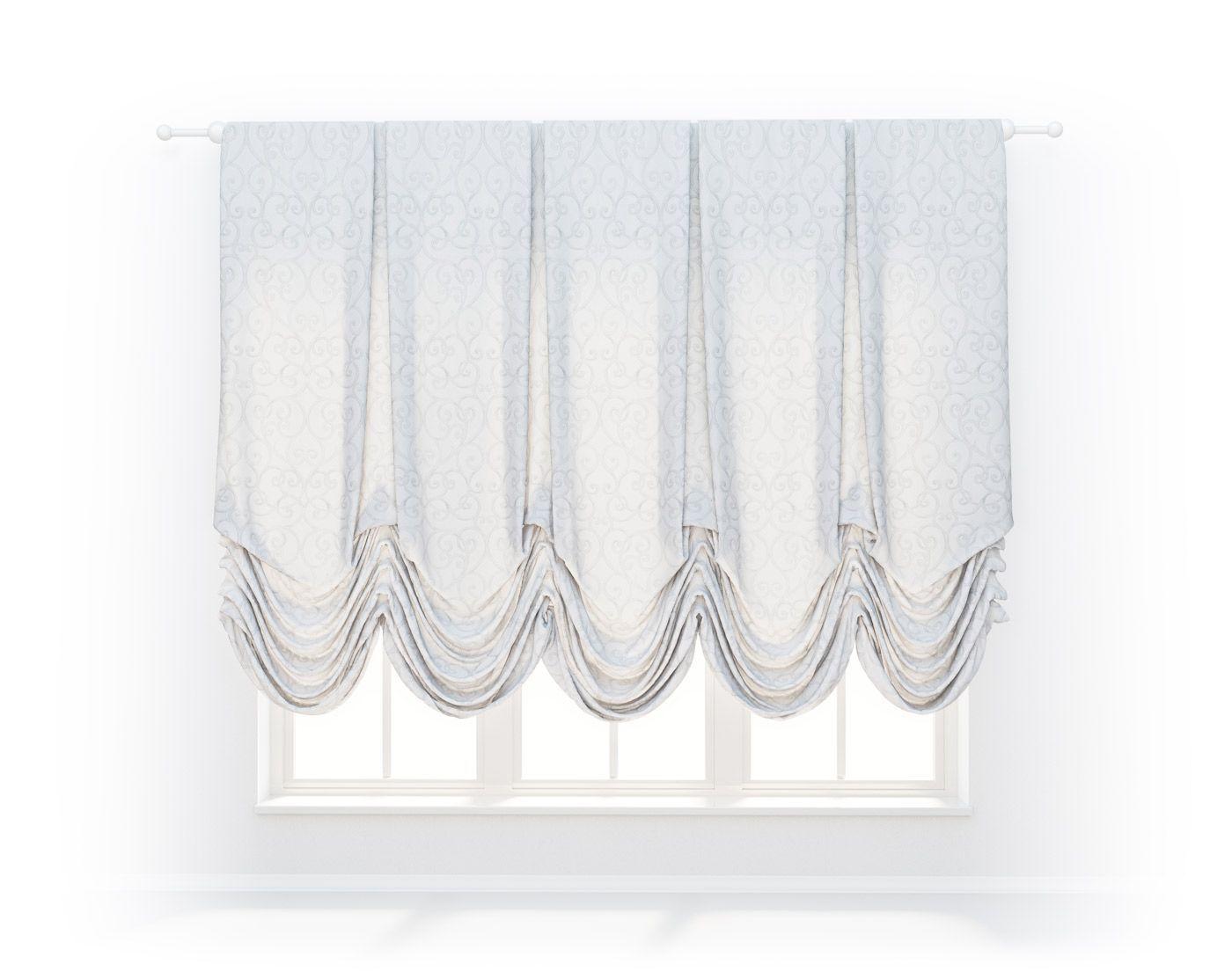 Австрийские шторы Cameo Oval, Cameo-Oval-06