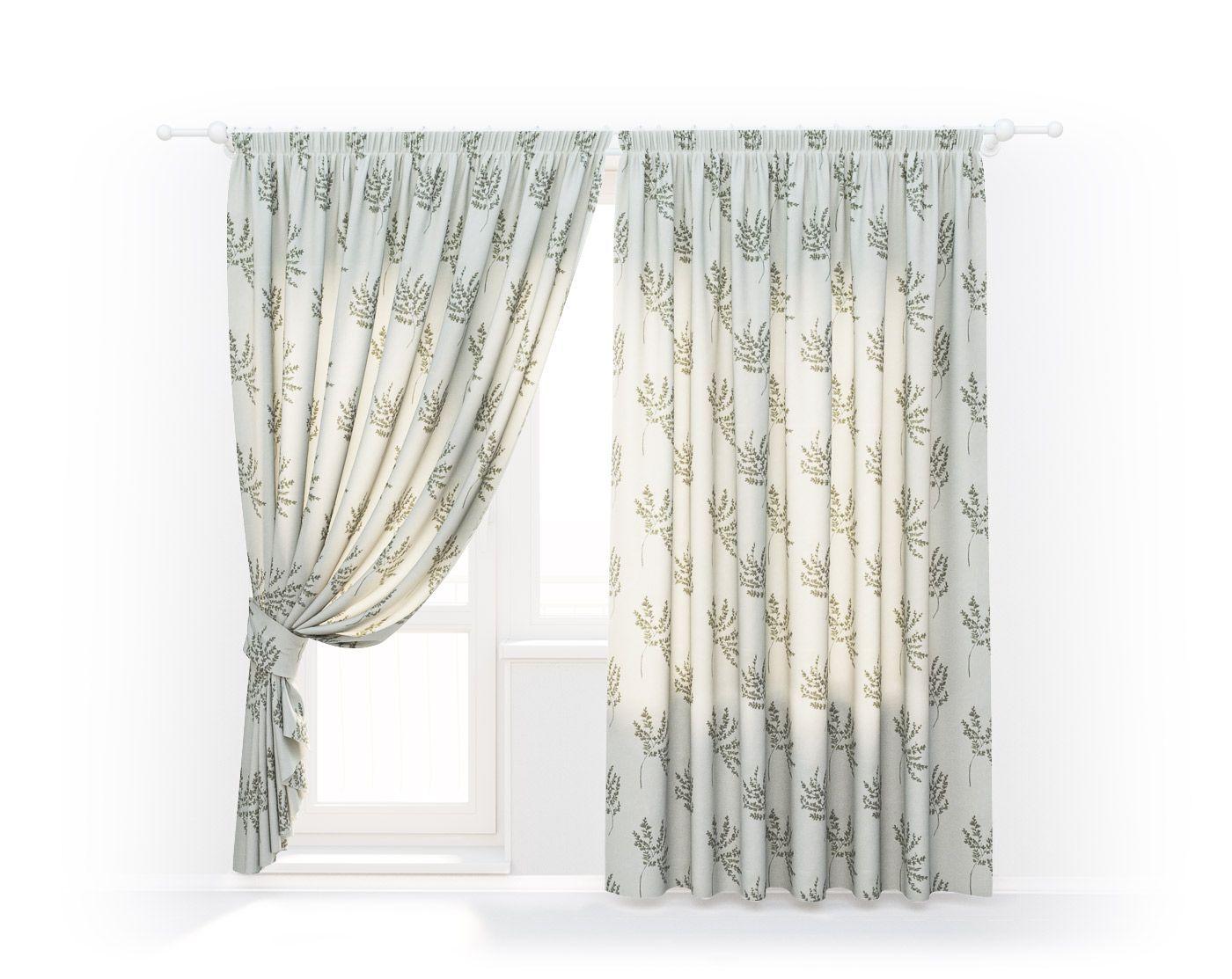 Классические шторы Botanical Gardens, HERBARIUM-04