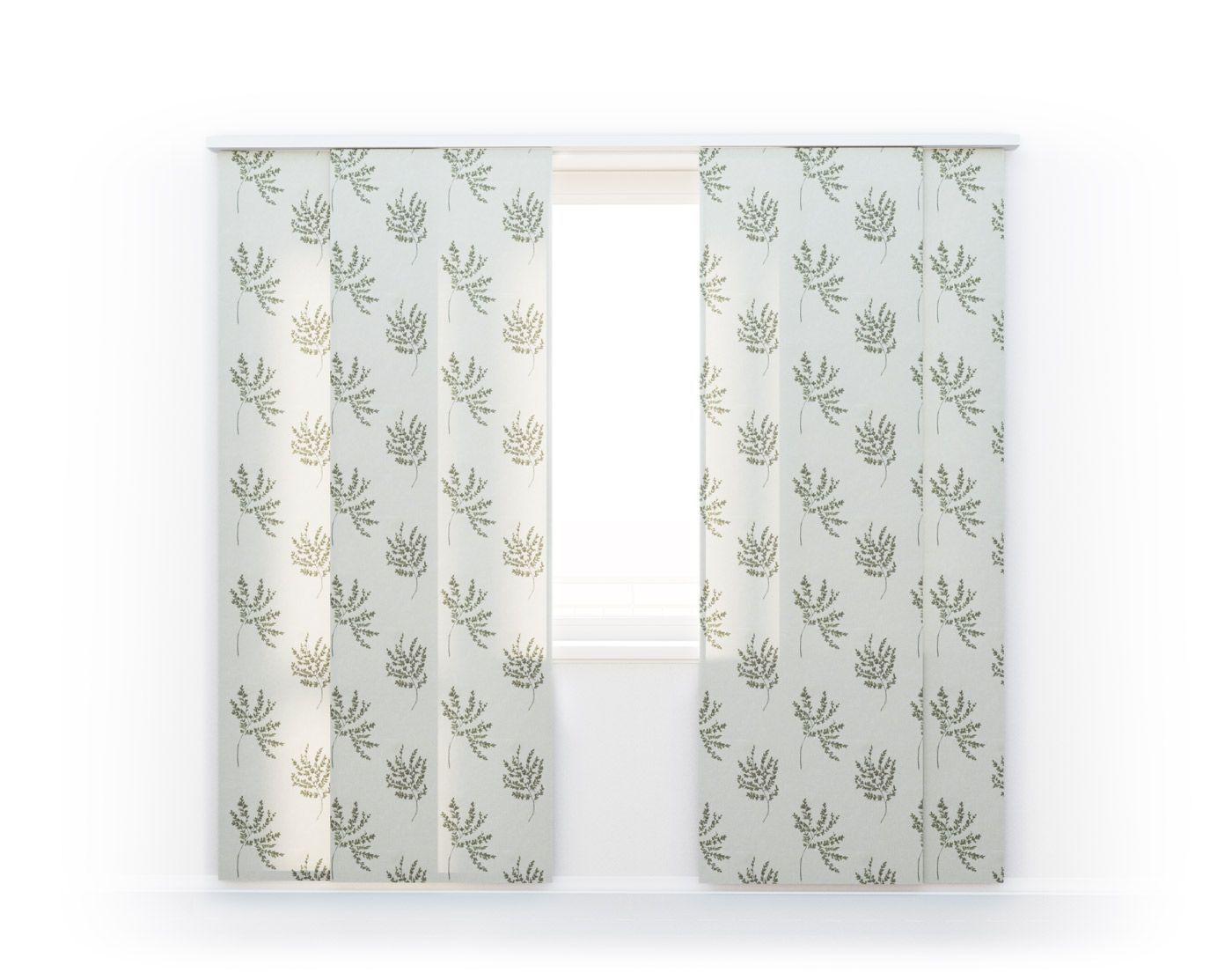 Японские шторы Botanical Gardens, HERBARIUM-04